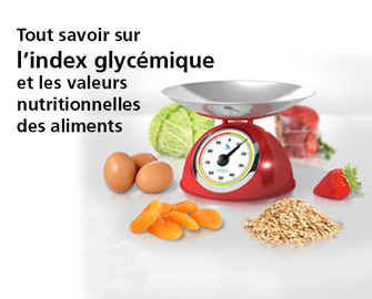 La balance à index glycémique